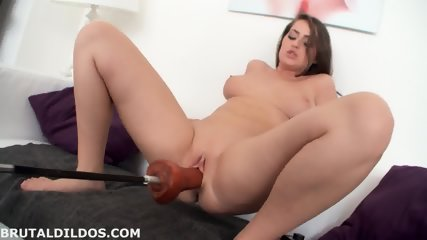Penetrated By Big Dildo