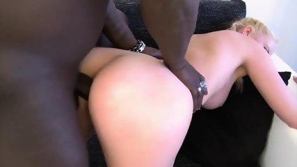 Glam Blonde Rides Black Cock - scene 9