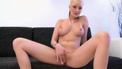 Glam Blonde Rides Black Cock - scene 2