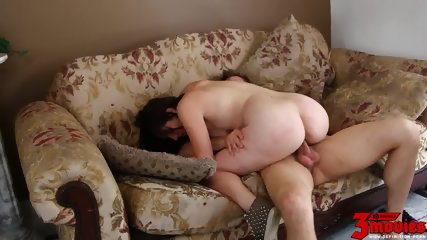 Round Ass Babe Takes Long Cock - scene 8