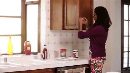Lesbian Sex For Breakfast - scene 1