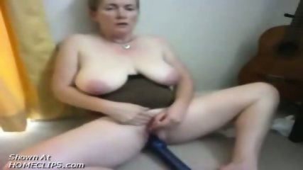 Fat lady plays with her toys - scene 9