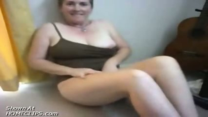 Fat lady plays with her toys - scene 3