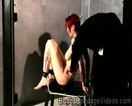 Redhead Babes Big Boobs Are Punished With No Mercy