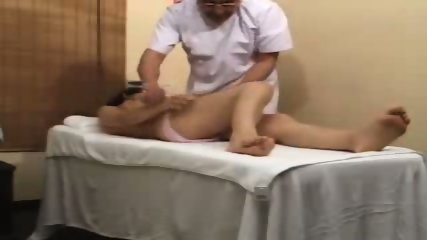 Asian Girl gets a more than normal Massage - scene 10