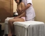 Asian Girl gets a more than normal Massage - scene 11