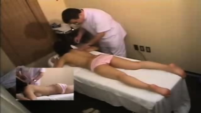 Asian Girl gets a more than normal Massage