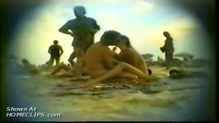 Hiddem cam at nudist beach - scene 2