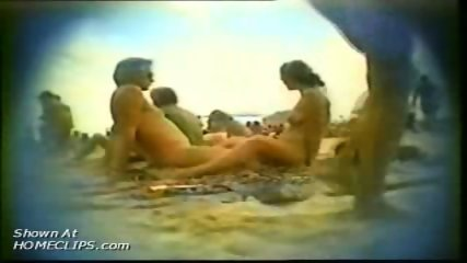 Hiddem cam at nudist beach - scene 7