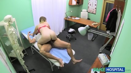 Blonde Girl Has Fun With Doctor