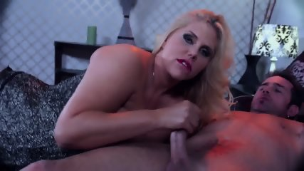 Blonde Mom With Corset Takes Cock - scene 3