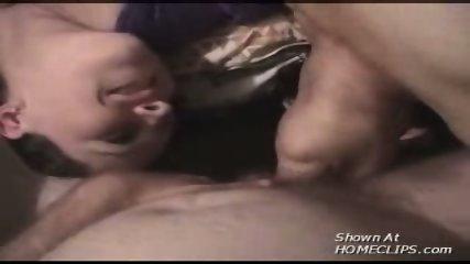Two girls suck a lucky guy! - scene 8