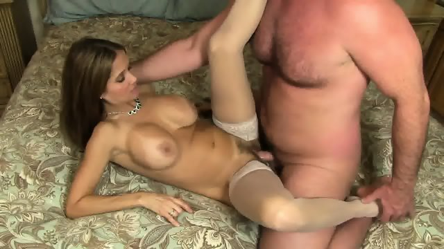 MILF Filled With Cum
