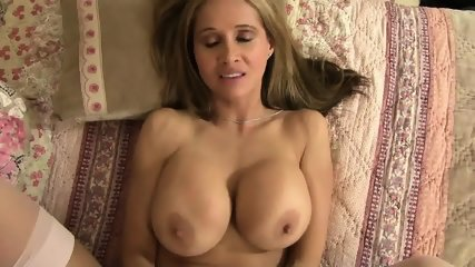 Cum Between Mom's Big Boobs - scene 12