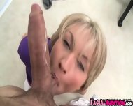 Hot Amateur Sucks Dick In Her Clothes