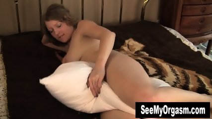Kinky Emily Humping The Pillow - scene 6