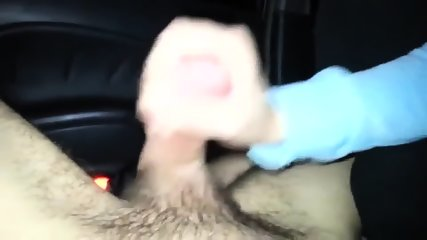 Nasty Chick Sucking A Dick In A Car After A Party - scene 7