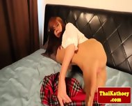 Inked Thai Ts In Plaid Skirt Loves Solo