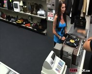 Big Tits Amateur Babe Pawns Her Pussy And Nailed By Pawn Man