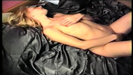 masturbating after sex, cum on her breasts - scene 9