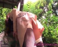 Monsterboobs Pornstar Hitomi Tanaka Outdoors