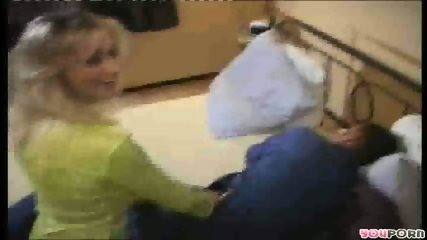 Racy blonde laps the competition 1/4 - scene 2