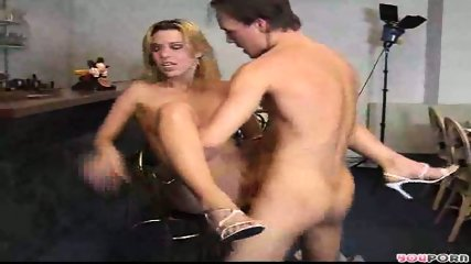 Sexy blonde model gets a good fucking 2/3 - scene 10