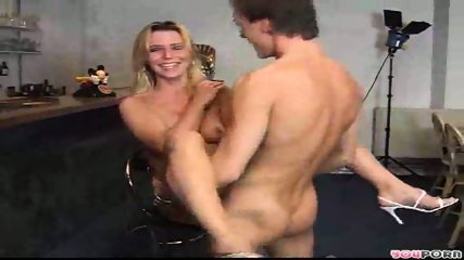 Sexy blonde model gets a good fucking 2/3 - scene 11