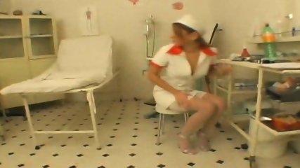 Nurse Performs an Oral Procedure - scene 1