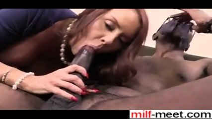 Affair From Milf-meet.com - Janet Mason Takes 2 Bbc