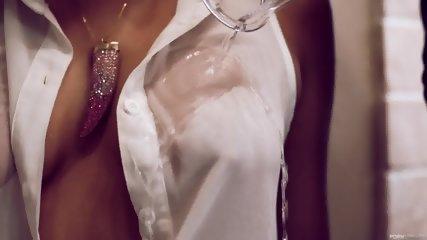 Pumped Tits And Creampie - scene 3