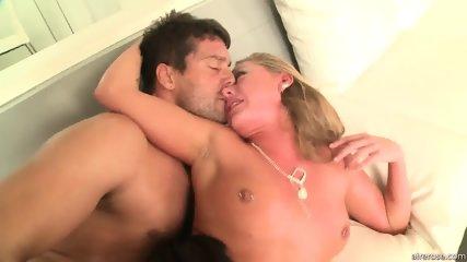 Horny Blonde Girl With Cum In Cunt - scene 11