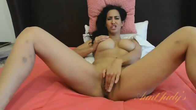 Pretty Girl With Fingers In Pussy
