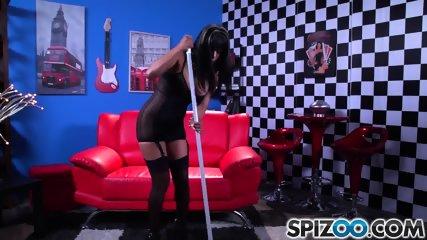 Horny Slut And Two Cocks - scene 2