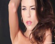 Sexy Musician Girl Shows Body - scene 5