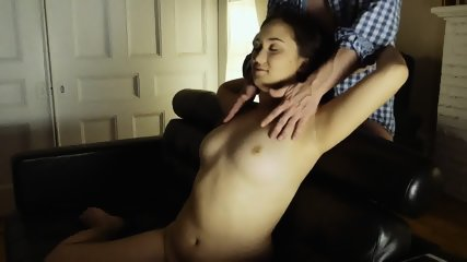 So Much Cum On Charming Babe's Tits - scene 2