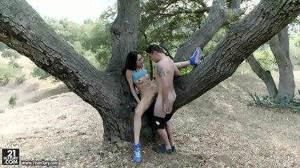 Cutie Banged On Tree - scene 6
