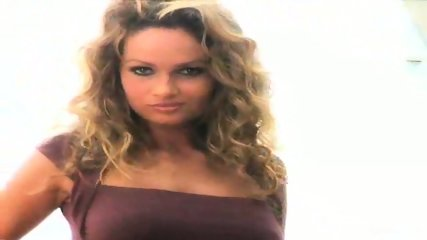 Prinzzess Teases Her Shaved Pussy - scene 1