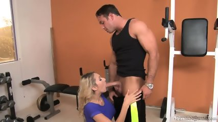 Horny Blonde With Round Tits Enjoys Sex - scene 2