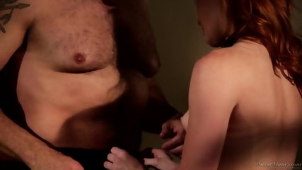 Skinny Redhead Wants To Feel A Dick - scene 5