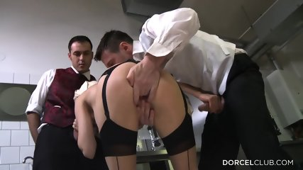 Sexy Blonde Ass Fucked In The Kitchen - scene 7