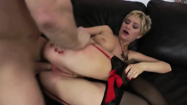 Anal With Girl In Sexy Lingerie