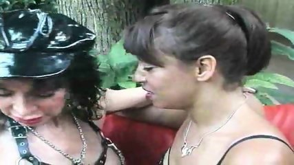 Horny mature goes lezzie with a MILF