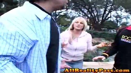 Hot Brooke enjoys getting banged for cash! - scene 1