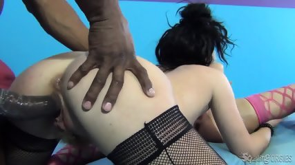 Sluts Share Black Cock - scene 6