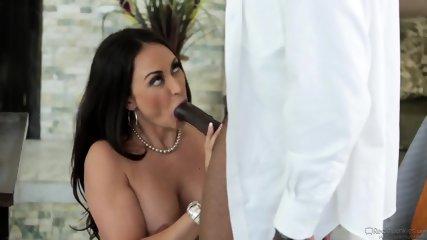 Huge Black Dick For Busty Coworker - scene 3