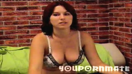 YouPornMate TinaRed Masturbates For Cam - scene 1