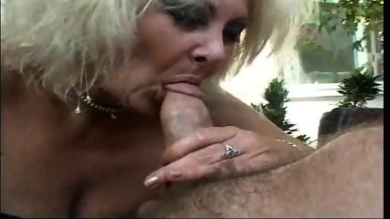 Mature Sucking And Slurping On Hard Cock