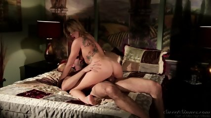 Attractive Blonde Likes Dick Riding - scene 10