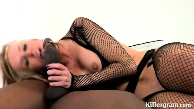 Fucked Hard By Big Black Pole